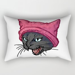 The Cat in the Hat (Black) Rectangular Pillow