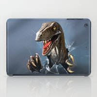 dinosaur iPad Cases featuring dinosaur by Antracit