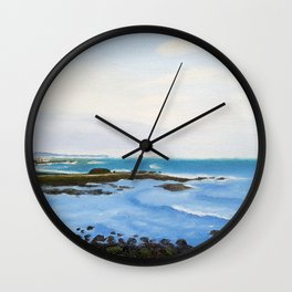 The Sea of Korea during the Day Wall Clock