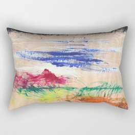 Hand-scape Rectangular Pillow
