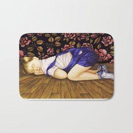 Child Sleeping #1 Bath Mat