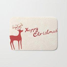 Happy christmas 1 Bath Mat