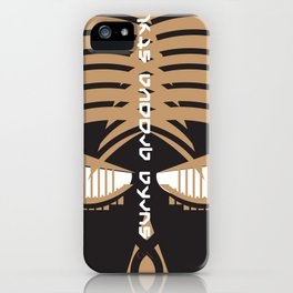 """Aya Fern""  Surfa Groova Africa Board print iPhone Case"