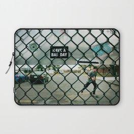 Behind a skate park fence Laptop Sleeve