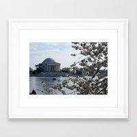 washington dc Framed Art Prints featuring Washington DC by Heidi Poulin
