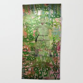 Meditation Beach Towel