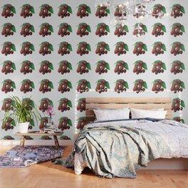 Sour Cherry, watercollor Wallpaper