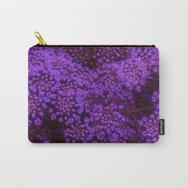 Purple Queen Anne's Lace Landscape Carry-All Pouch