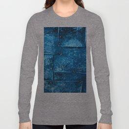 Blue Metal Plates Long Sleeve T-shirt