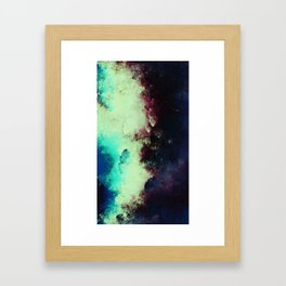 Celestials - Caught Between Framed Art Print