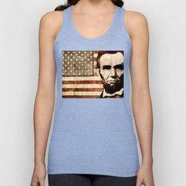 Abraham Lincoln Unisex Tank Top