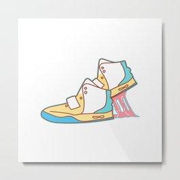 Sneakers Chewing Gum Metal Print