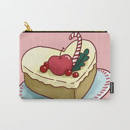 Food Illustration Cake Carry-All Pouch