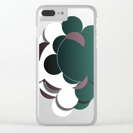 Eclipsing Bubbles Clear iPhone Case