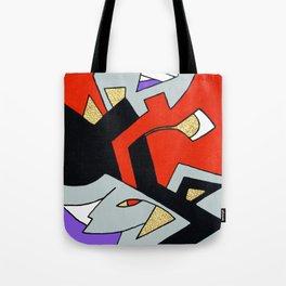Deco Harley Quinn Tote Bag
