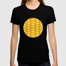 Wavy Plaid (Fire) T-shirt