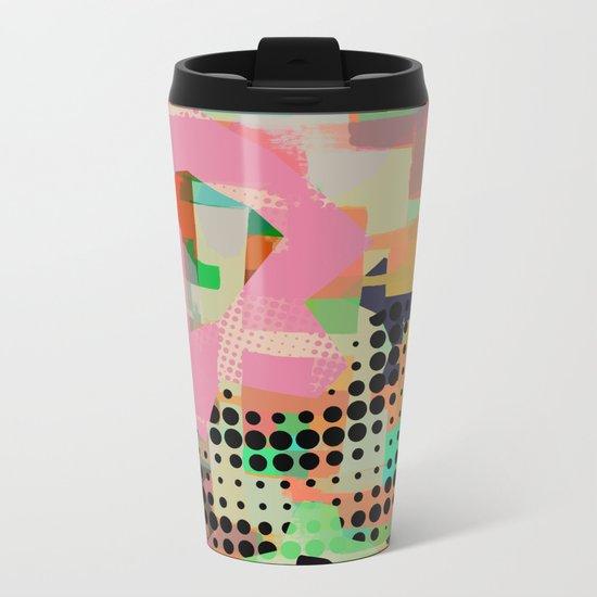 Abstract Painting No. 10 Metal Travel Mug