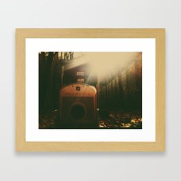 poaroid Framed Art Print
