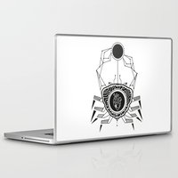 cancer Laptop & iPad Skins featuring Cancer by LydiaSchüttengruber