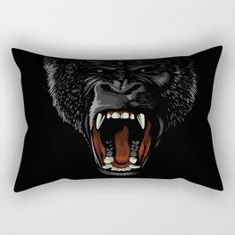 Gorilla attack Rectangular Pillow