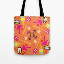 candy fashionista cats Tote Bag