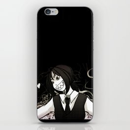 Open Arms - Black iPhone Skin