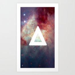 Bastille Galaxy Triangle Art Print