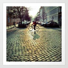 cobblestones Art Print