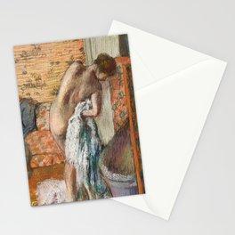 Edgar Degas - Naked lady. Après le bain Stationery Cards