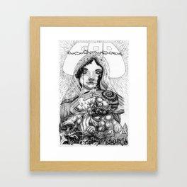 The One True God Framed Art Print