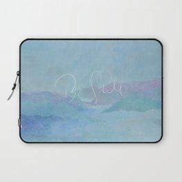 Be Still - Psalm 46:10 / Ocean Laptop Sleeve