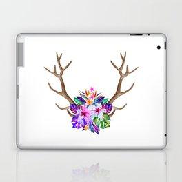 Floral Horn Laptop & iPad Skin