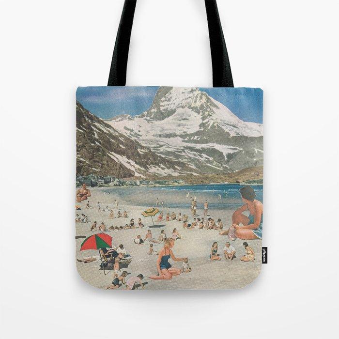 Matterhorn beach Tote Bag