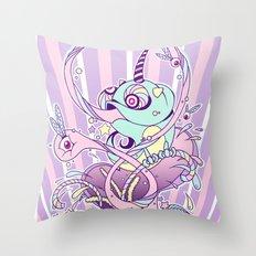 Fantasy Chameleon Throw Pillow