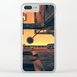 Strong ties Clear iPhone Case