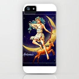 Greek gods series - Artemis iPhone Case