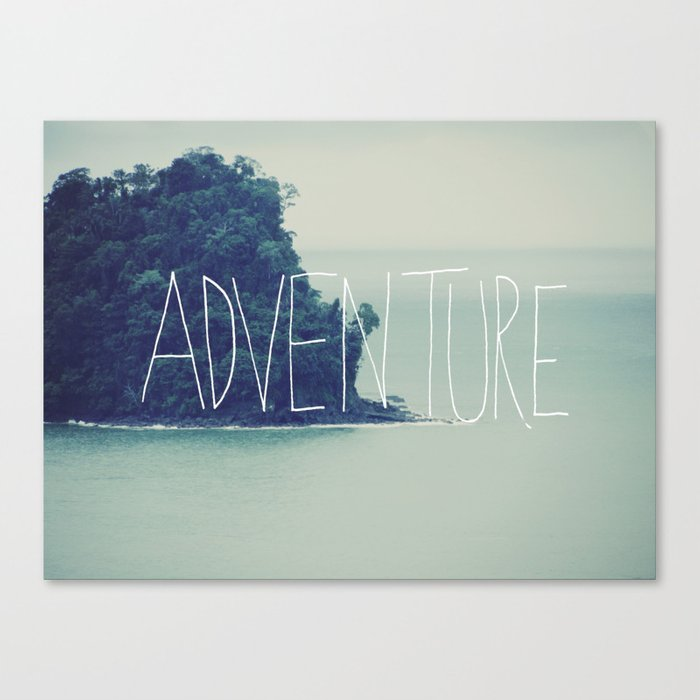 Adventure Island Canvas Print