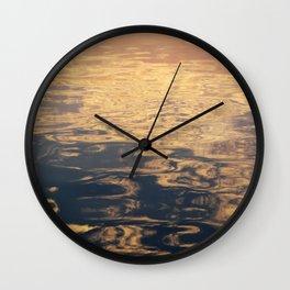 Marbled Sea Wall Clock