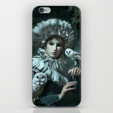 Owls Talk - dedicated to thee_owl_queen iPhone Skin