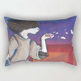 Nom as Haku Rectangular Pillow