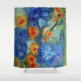 Over Bloom Shower Curtain