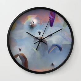 Dream Gliding Flash Wall Clock