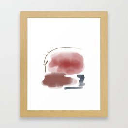 Introversion X Framed Art Print