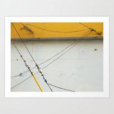 Abstract Tension Art Print