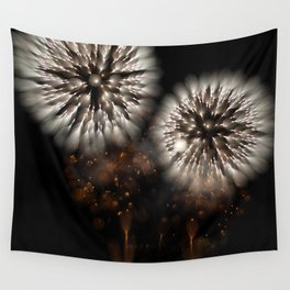 Bokeh Sparkle (Fireworks) Wall Tapestry