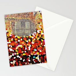 copper mirror reflection Stationery Cards