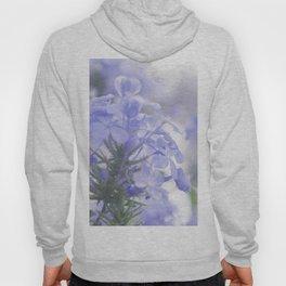 Lilac Lavender Hydrangea Flower Floral Pastel Soft Fine Art Colored Wall Art Print Hoody