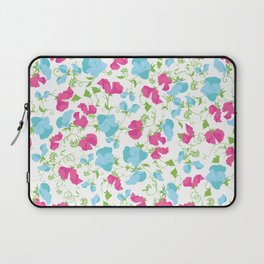 Sweet pea pattern art B Laptop Sleeve