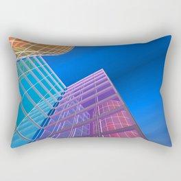 citylines -5- Rectangular Pillow