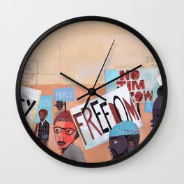 EQUALITY NOW Wall Clock